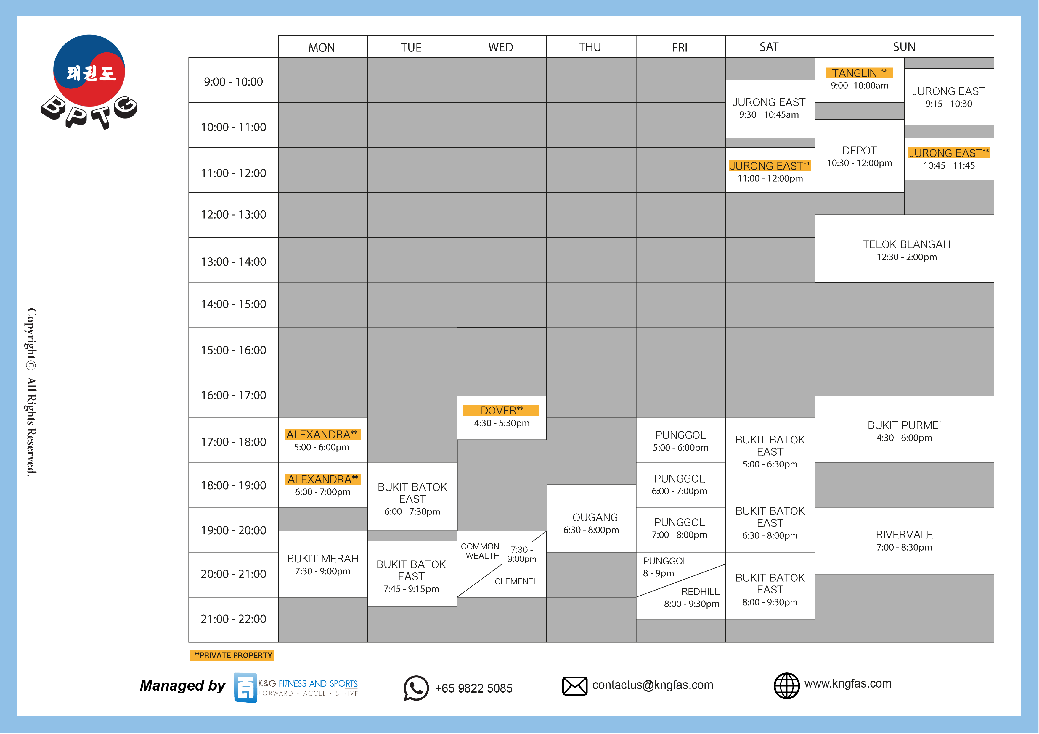 website timetable-01